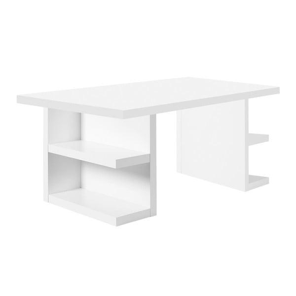 Multi fehér íróasztal, hosszúság 180 cm - TemaHome