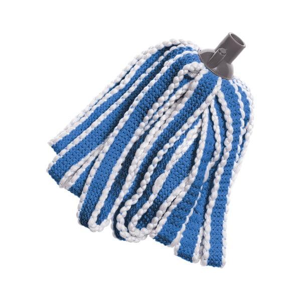 Niebieski wkład do mopa z mikrowłókna Addis Mega