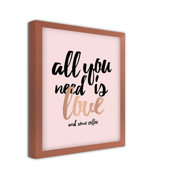 Tablou Styler All You Need, 24 x 30 cm