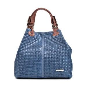Modrá kožená kabelka IsabellaRhea Matildo