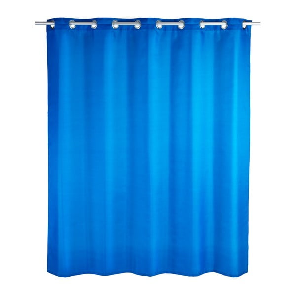 Comfort Flex kék zuhanyfüggöny, 180 x 200 cm - Wenko