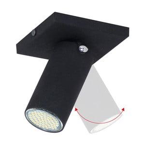 Černé stropní svítidlo Glimte Plafond Short Uno Slim II