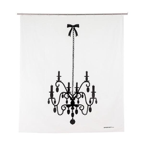 Sprchový závěs Black Lustre, 200x180 cm
