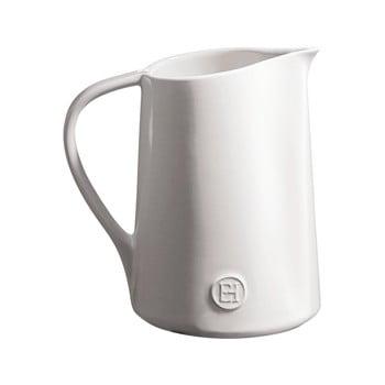 Ulcior din ceramică Emile Henry, 950 ml, alb de la Emile Henry