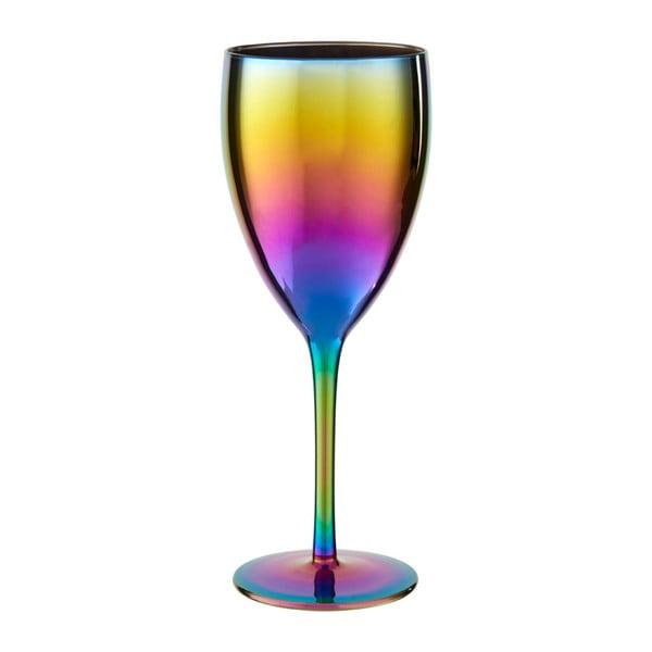 Sada 4 sklenic na víno s duhovým efektem Premier Housewares Rainbow, 473 ml
