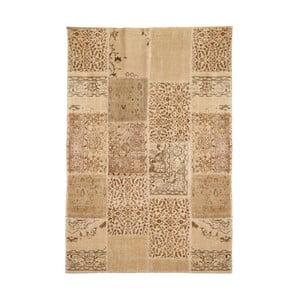 Vlněný koberec Allmode Patchwork Light, 150x80 cm