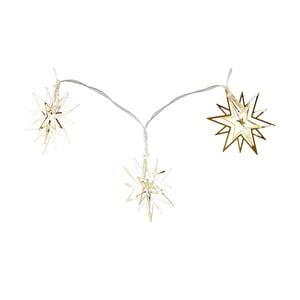 Světelný LED řetěz ve zlaté barvě Villa Collection Harmony, 10 světýlek