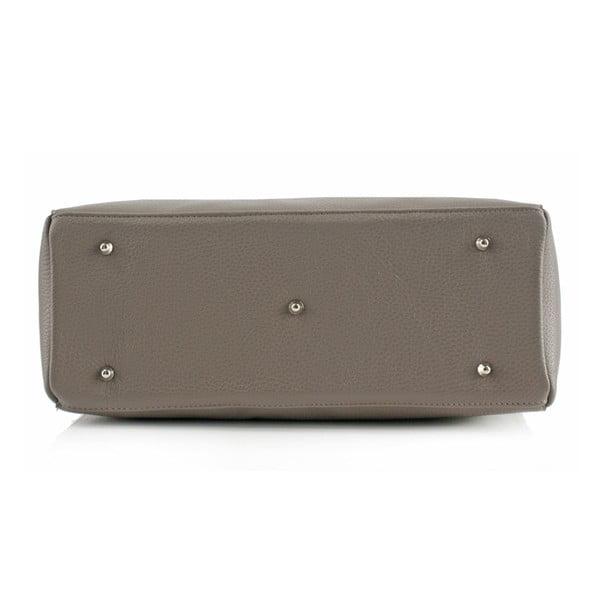 Kožená kabelka Boscollo Grey 3467
