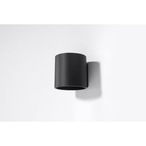 Černé nástěnné svítidlo Nice Lamps Roda