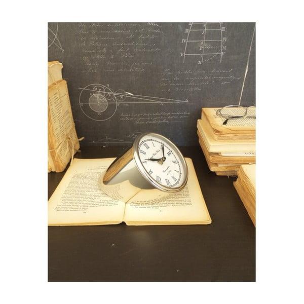 Ceas de masă din oțel Orchidea Milano Davide, înălțime 10 cm