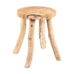 Zahradní stolička z teakového dřeva Massive Home Cowboy