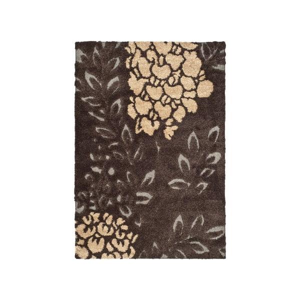 Hnědý koberec Safavieh Felix, 160x228cm
