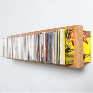 Police na CD z dubového dřeva das kleine b BCD, délka32cm