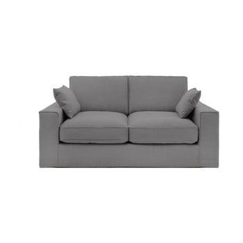 Canapea cu 3 locuri Vivonia Jane, gri de la Vivonita