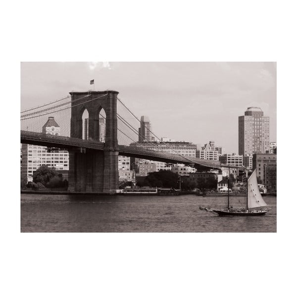 Obraz Brooklyn Bridge, 40x60 cm