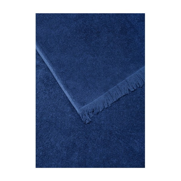 Sada 6 modrých ručníků a 2 osušek ze 100% bavlny Bonami