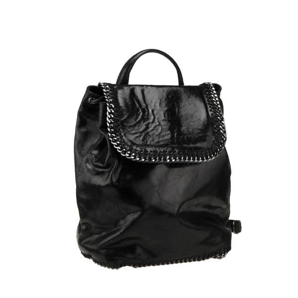 Kožený batoh Situla, černý