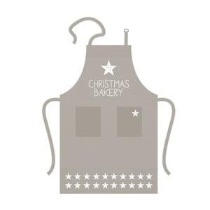 Bavlněná kuchyňská zástěra s vánočním motivem PPD Baking Star