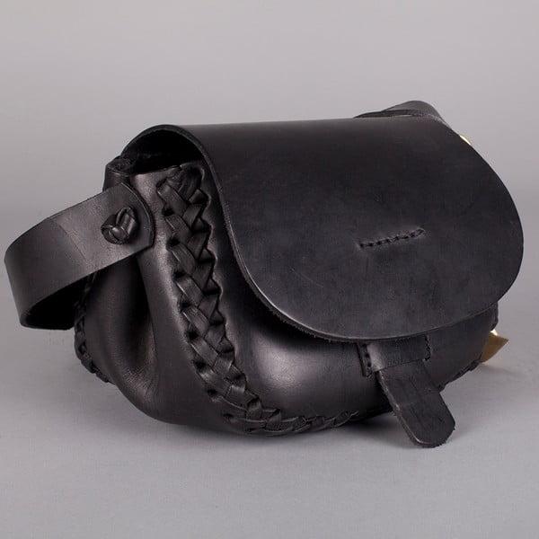 Kožená kabelka Tagata Mini, černá