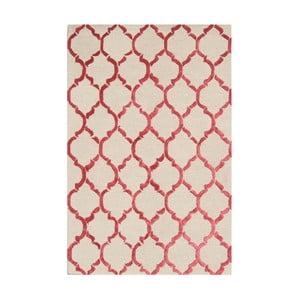 Koberec Chain Red, 153x244 cm