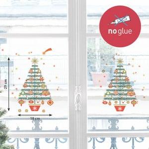 Elektrostatická samolepka Postershop Vánoční stromek