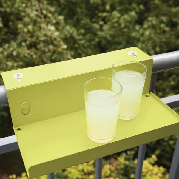 Sada 2 poliček na zábradlí balkónu Esschert Design Magic