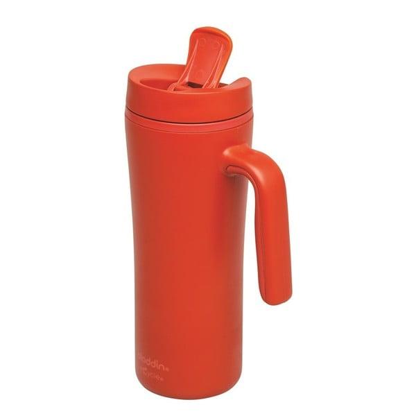 Červený termohnek s uchem Aladdin Flip-Seal™,350ml