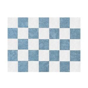 Koberec Damero 160x120 cm, modrý