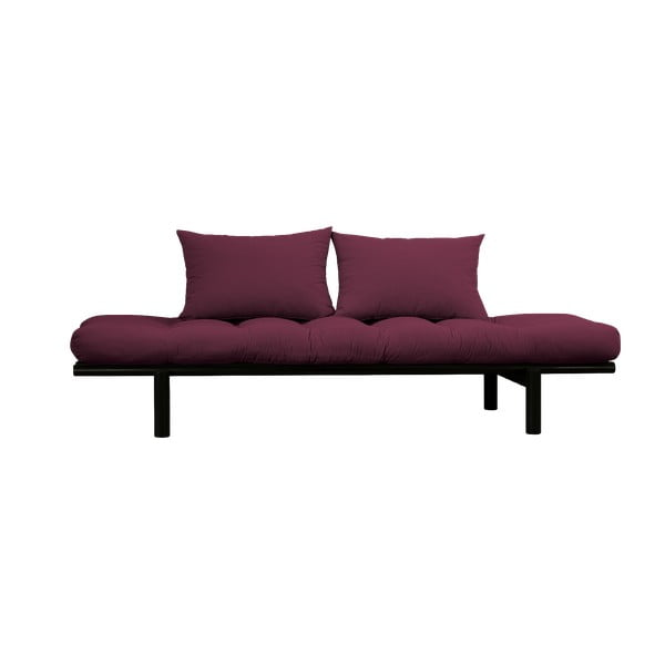 Pohovka Karup Design Pace Black/Light Bordeaux