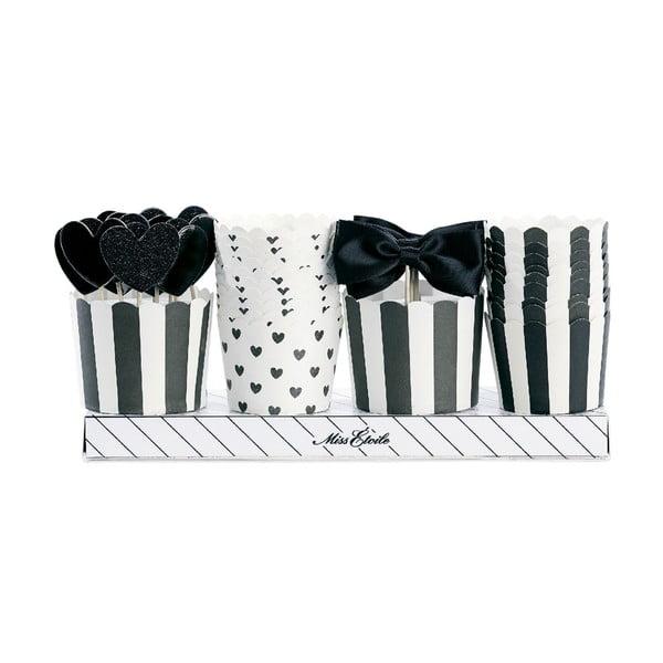 Dárkové balení košíčků a ozdob na muffiny Miss Étoile Cavalier
