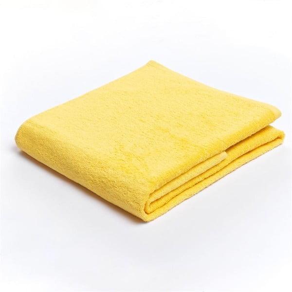 Ručník Carlo Brunni Julia 70x140 cm, žlutý