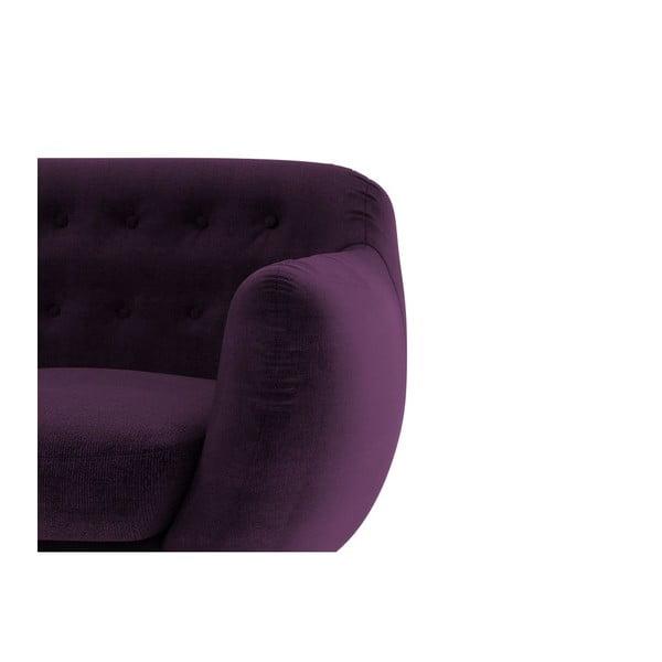Sofa Indigo pro tři, fialové