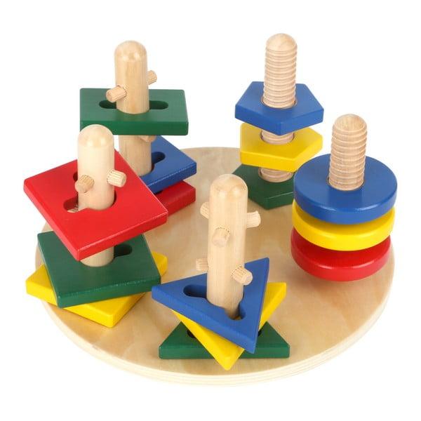 Hračka pro rozvoj motoriky Legler Towers