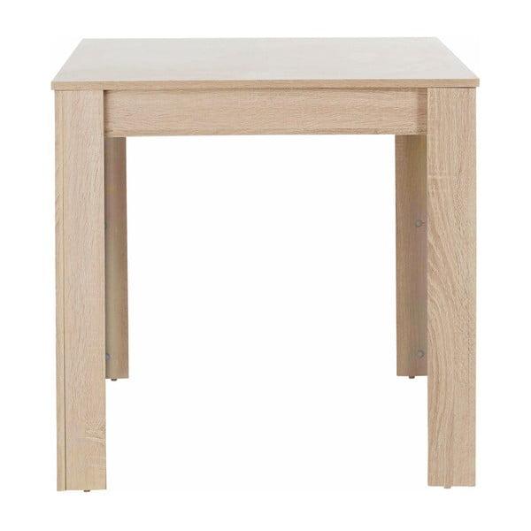 Jídelní stůl v dubovém dekoru Støraa Lori, 80x80cm