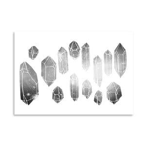 Plakát Americanflat Minerals, 30x42cm