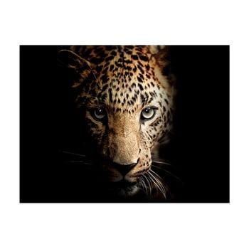 Tablou imprimat pe pânză Styler Leopard, 100 x 75 cm