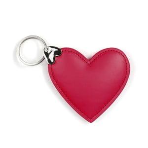 Červený přívěšek na klíče GO Stationery Hearts Key