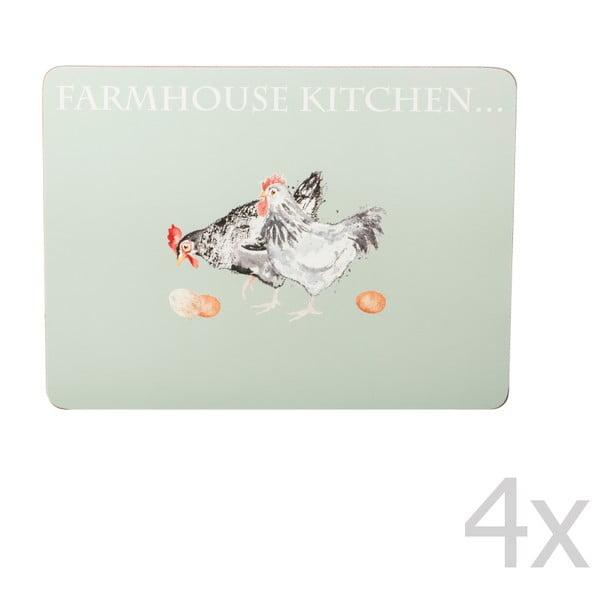 Sada 4 prostírání Price & Kensington Farmhouse