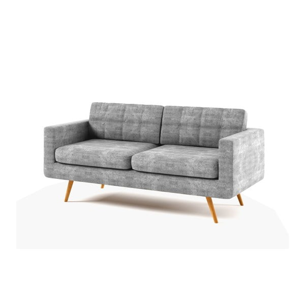 Sofa New York pro tři, šedé