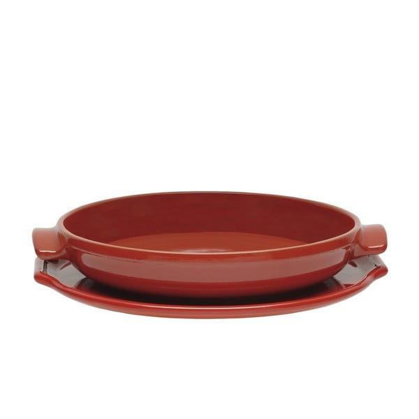Forma na koláč Emile HenryTarte Tatin 30 cm, červená