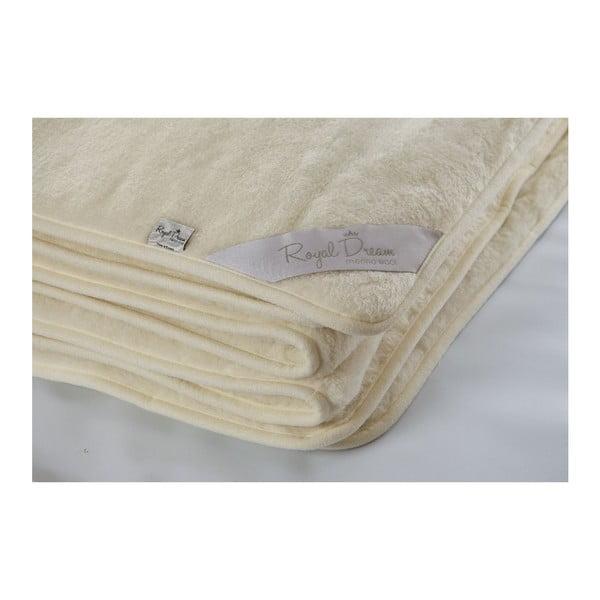 Vlněná deka Royal Dream Cashmere,160x200cm