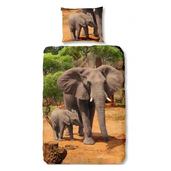 Dětské povlečení Elephants, 140x200cm