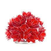 Perleťová stolní lampa Dome, červená