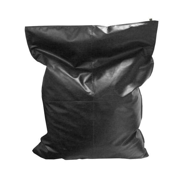 Černý sedací vak OVERSEAS Beanbag