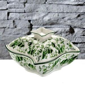 Mísa na pečení s poklopem Olive, 14x14 cm