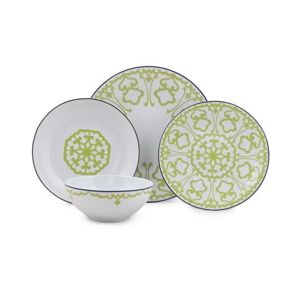 24-częściowy zestaw talerzy porcelanowych Kutahya Pareto
