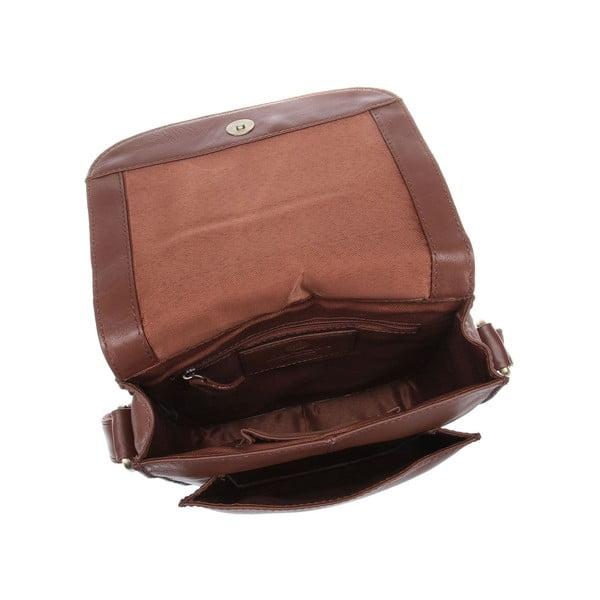 Dámská kožená taška Amarylis Whiskey Cross-Body