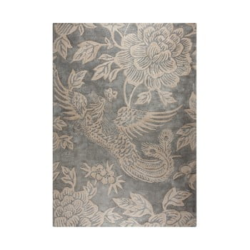 Covor țesut manual Flair Rugs Phoenix, 120 x 170 cm, gri de la Flair Rugs