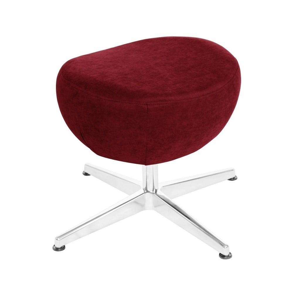 Červená otočná stolička/podnožka My Pop Design Vostell