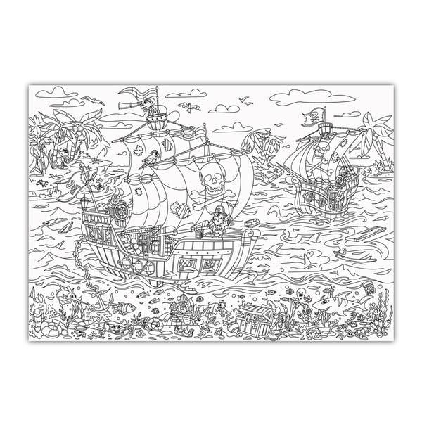 Omalovánky Creative Gifts Piráti